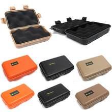 Outdoor Wild narzędzie survivalowe pudełko małe duże zestaw EDC odporny na wstrząsy odporny na ciśnienie wodoodporny pyłoszczelny