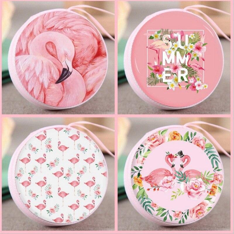 1pcs Baby Age Gift Candy Box Flamingo Wallet Headset Storage Birthday Party Decoration Kids Wedding Decoration Candy Box -S