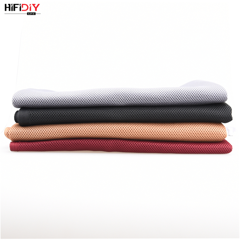 HIFIDIY LIVE Speaker Grill Cloth Stereo Fabric Gille Mesh Cloth Speaker Protective Accessories White Brown Silver Black 1.5*0.5 3
