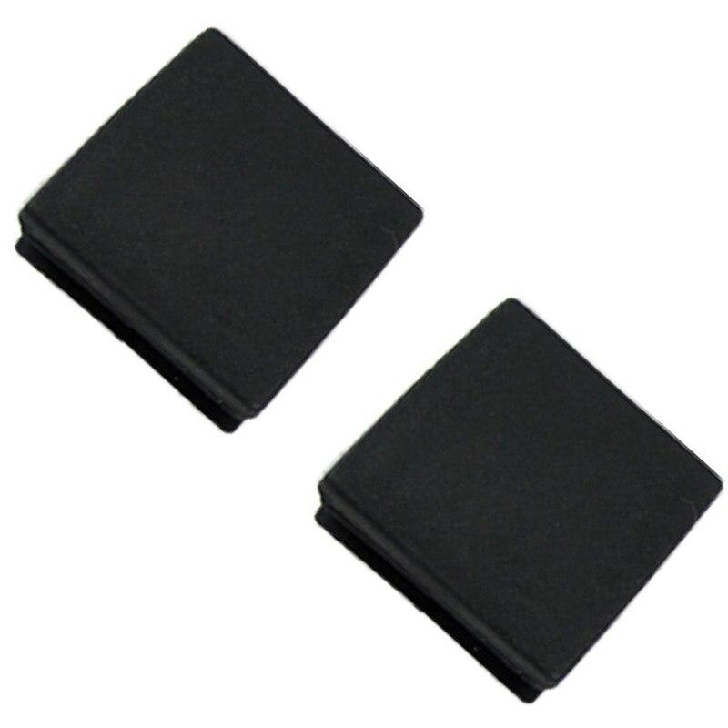 Plastic Square Tube Inserts End Blanking Cap 38mm X 38mm 10 Pcs Black