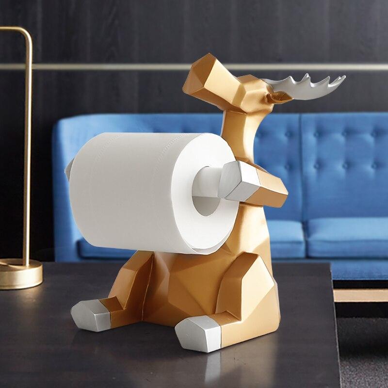 Porta Papel Higiênico Artesanal Animais Luxuosos 4