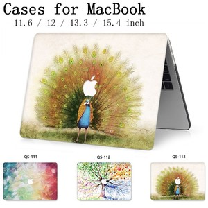 Image 1 - For Notebook New MacBook Laptop Case Sleeve For MacBook Air Pro Retina 11 12 13.3 15.4 Inch With Screen Protector Keyboard Cove