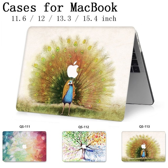 For Notebook New MacBook Laptop Case Sleeve For MacBook Air Pro Retina 11 12 13.3 15.4 Inch With Screen Protector Keyboard Cove