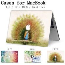 Para Notebook Laptop Novo MacBook Sleeve Case Para MacBook Air Pro Retina 11 12 13.3 15.4 Polegada Com Protetor de Tela teclado Enseada