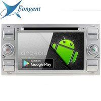 Android 9.0 For Ford Mondeo Focus Fiesta Transit Galaxy Fusion C MAX S MAX C S MAX Radio 2 DIN DVD Radio Player Black silver