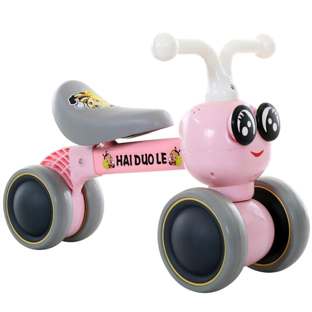 Hai Dou Le 12 Inch Toddler Bike No Pedals For 1 – 5 Year Old, 4 Wheel 2