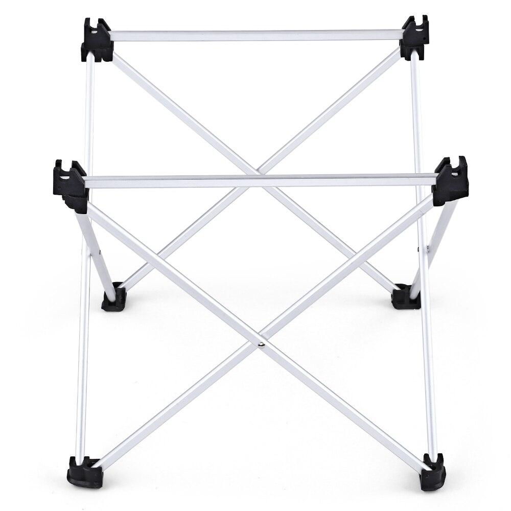 Mini Table pliable Portable Camping mobilier d'extérieur Tables de lit d'ordinateur pique-nique en alliage d'aluminium bureau de voiture pliant Ultra léger - 5