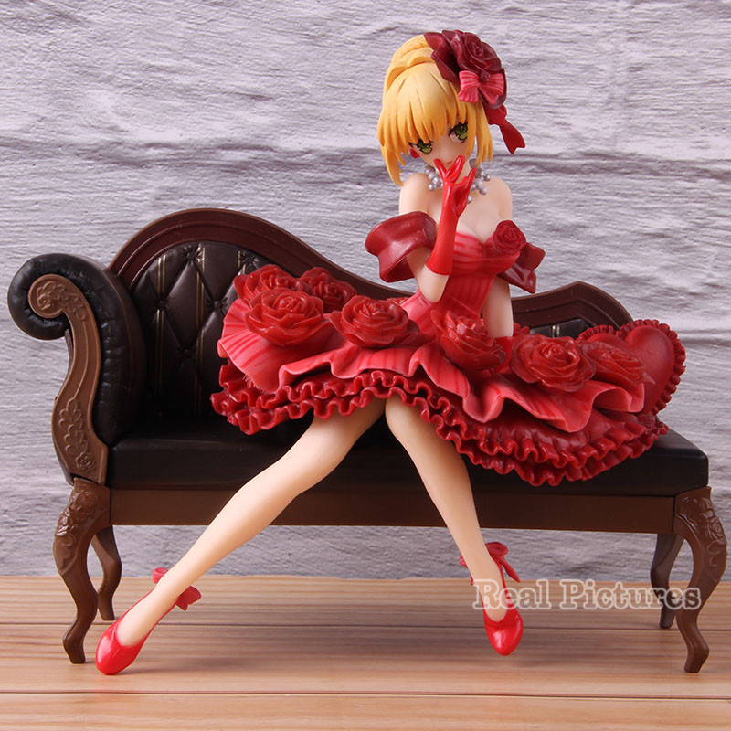 Red Saber Nero Claudius Action Model Toy Fate Stay Night PVC Collectible Fate/EXTRA 1/7 Scale Painted Figure 17cm