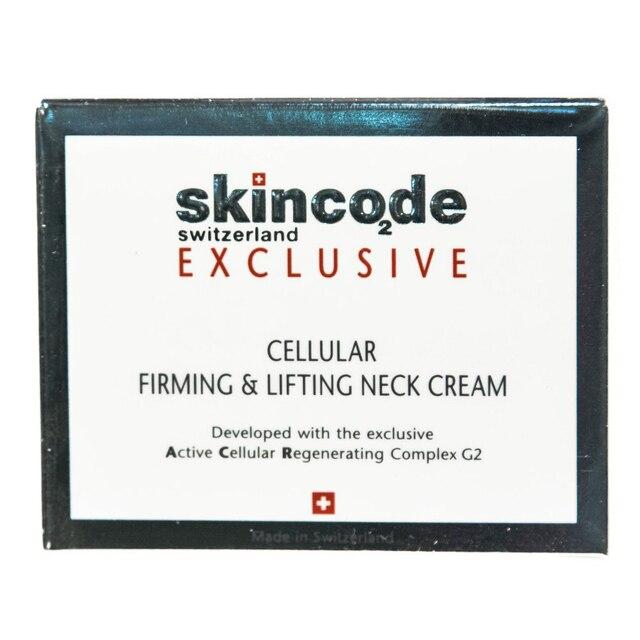 Крем SKINCODE Клеточный укрепляющий и подтягивающий для шеи, 50 мл