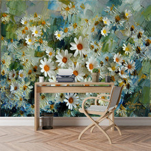 Custom 3D Wallpaper Mural for Living Room Floral Blossom
