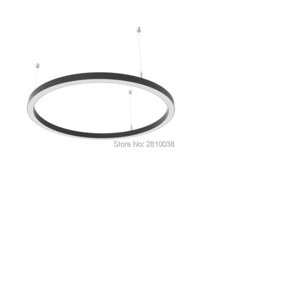 conjuntos 5x1 lot forma redonda diodo emissor de luz perfil de aluminio diametro 600 milimetros circulo