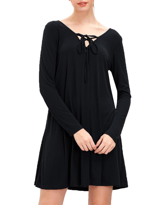 Spring Women Bandage Dresses ZANZEA 2019 Casual Loose Sexy V-Neck Solid Short Dress Elegant Party Bodycon Mini Dress Plus Size