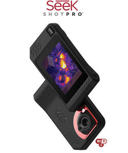 Image 1 - Seek Thermal SHOT / SHOT PRO Imaging Camera infrared imager Night Vision photos/video/Large Touch Screen/206x156 or 320x240/Wifi