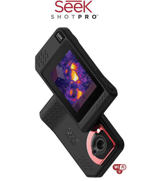 Seek Thermal SHOT / SHOT PRO Imaging Camera infrared imager Night Vision photos/video/Large Touch Screen/206x156 or 320x240/Wifi