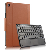 For Xiaomi Mi Pad 4 Plus 10.1'' Case PU Leather Flip Stand Wireless Tablet Keyboard Cover For Xiaomi MiPad 4 Plus 10.1 Inch Case