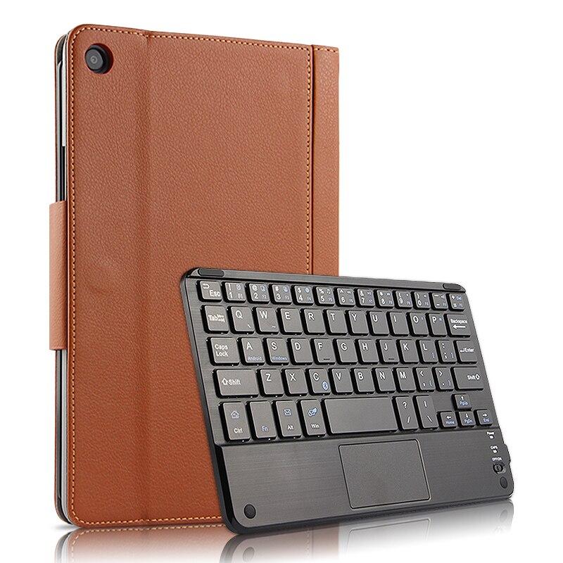 Pour Xiao mi mi Pad 4 Plus 10.1 ''Cas PU Cuir Flip Stand Sans Fil Tablet Keyboard Cover Pour Xiao mi mi Pad 4 Plus 10.1 Pouces Cas