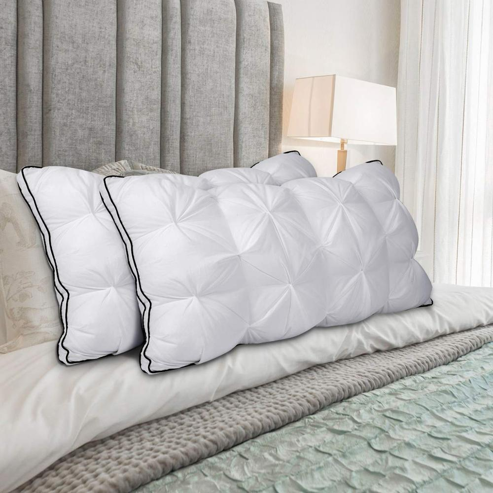 LFH Design 3D Bread Microfiber Pillow Standard Antibacterial Elegant Home Textile Pillow For Sleeping 48x74cm Adjustable