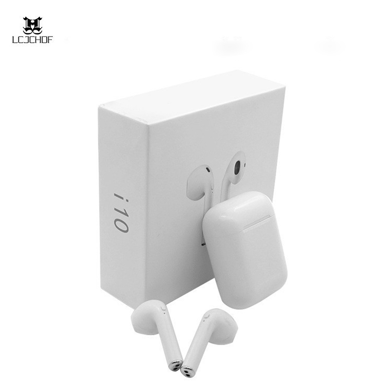 i10 TWS Bluetooth 5 0 Earbuds i9s Wireless Earphones Support Touch Control Wireless Charging Binaural Calling for Smart Phone in Bluetooth Earphones Headphones from Consumer Electronics
