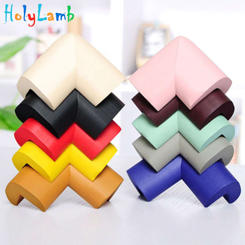 8Pcs/Lot Thicken Soft Safety  Baby Corner Edge Guards Table Children Protection Corner Desk Children Safety Child Protection
