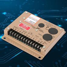 Controlador de velocidad del generador ESD5500E, controlador electrónico de velocidad del motor, Panel controlador del generador, 1KHz ~ 7,5 KHz