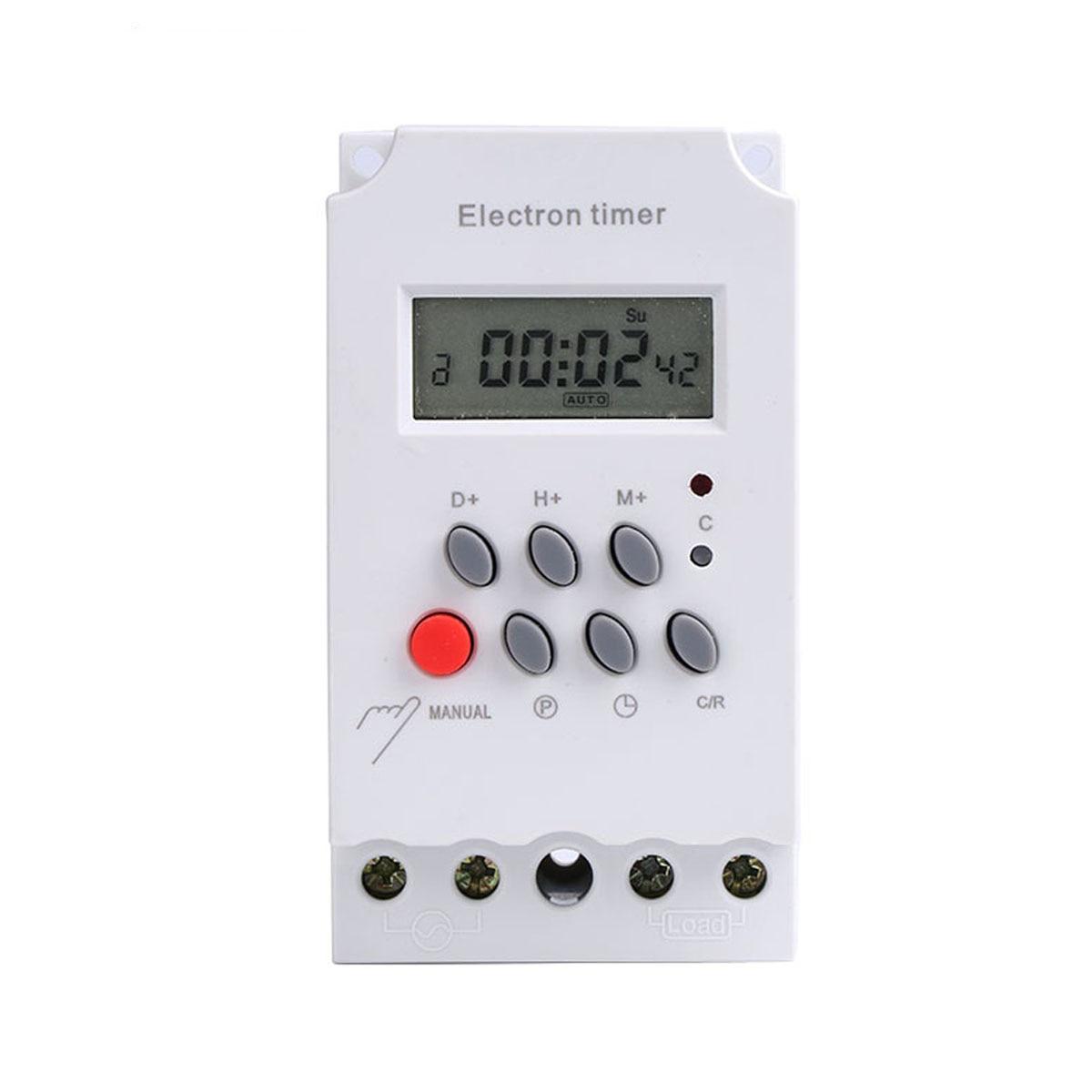 Unparteiisch 1 Pcs Digitale Zeit Schalter Elektron Timer Mit Zyklus Timing Funktion Mikrocomputer Zeit Steuerung Schalter Kg316t-ii Werkzeuge