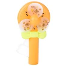 Fresh Fruit Hand Pressure Small Fan Pocket Fruit Portable Hand-Held Press Clearance Summer Mini Fan