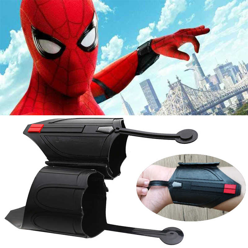 Homem Aranha filme cosplay atirador web spiderman Peter Parker cosplay prop Decorar do Regresso A Casa