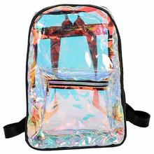 New Ladies Bag Travel Transparent Bright Shoulder