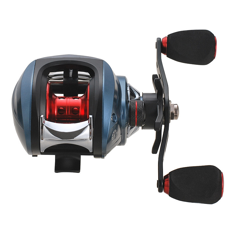 7.2: 1 18 + 1Bb Fishing Reel Windlass Multiplier Baitcasting Reel Centrifugal Dual Brake Bait Casting Reel 2type Right/Left Hand old school motorcycle gauges