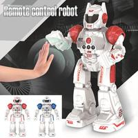 Gesture Sensing Wireless Remote Control Smart Robot Model Toy Smart Child RC Robot Child Educational Toy For Children Gift