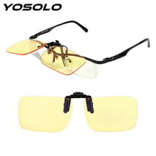 YOSOLO Blue Light Blocking Motocross Bike Goggles Clip On Gl