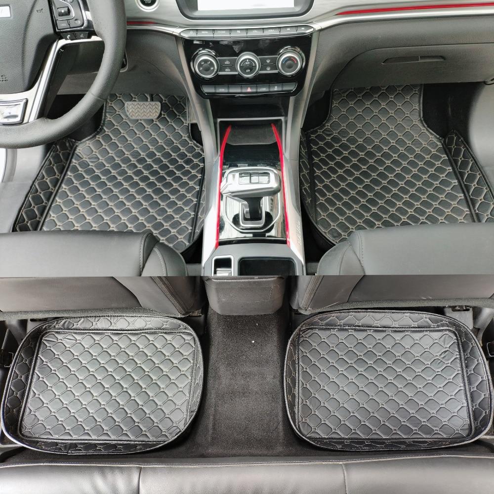 ZHAOYANHUA tapis de sol de voiture tapis de voiture tapis pour la voiture LHD et RHD accessoires universels pour intérieur automobile