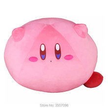 WXCTEAM Japan Game Plush Doll Kirby Adventure Kawaii Soft Toys Large Stuffed Kids
