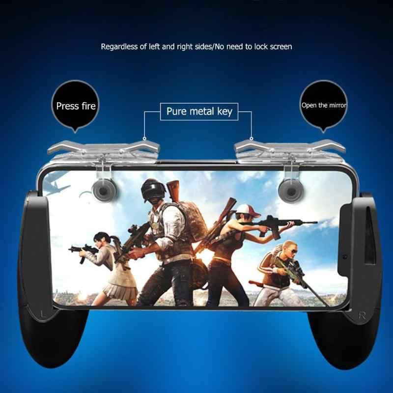 2pcs PUBG Mobile Gamepad Controller di Gioco Maniglia L1R1 Trigger Fuoco Shooter e Puntare Pulsante di Gioco Joystick per PUBG Accessori