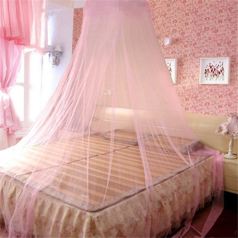 1 Pc Lace Bed Canopy Klamboe Conische Gordijnen Dome Bed Canopy Prinses Cibinlik Baldachim Klamboe Ciel De Lit Moustiquaire Eenvoudig En Eenvoudig Te Hanteren
