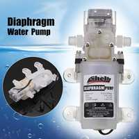Micro Food Grade Diaphragm Pump DC 12V 30W/60W 4L/min Self priming Electric DC Booster Water Pumps With Switch