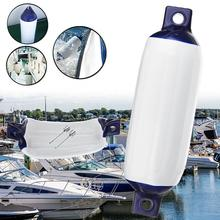 120x450mm Inflatable Marine-Fender Blue Twin Eye Vinyl PVC Boat Mooring Buffer UV Protected Suitable for Small Boats Durable