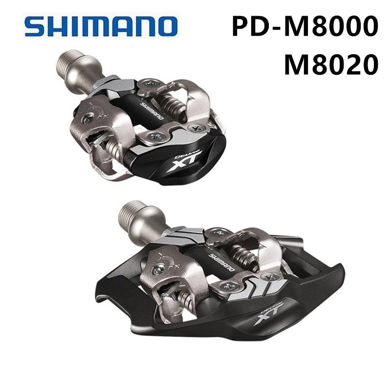 Shimano DEORE XT PD M8000 m8020 Auto-Verrouillage SPD Pédales VTT Composants En Utilisant pour vélos Racing Pièces De Vélo De Montagne