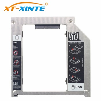 Aluminum 2nd HDD Caddy 9.5mm Optibay SATA 3.0 CD DVD Driver to HDD Case Enclosure for Apple MacBook Pro iMac Laptop