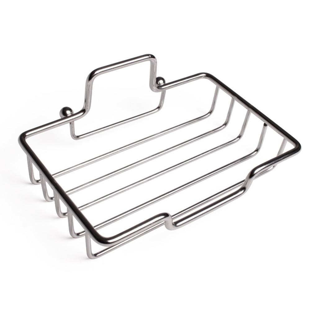 1PCS Soap Dish Wall-mounted Modern Sponge Holder Tray for Bathroom Kitchen Hotel