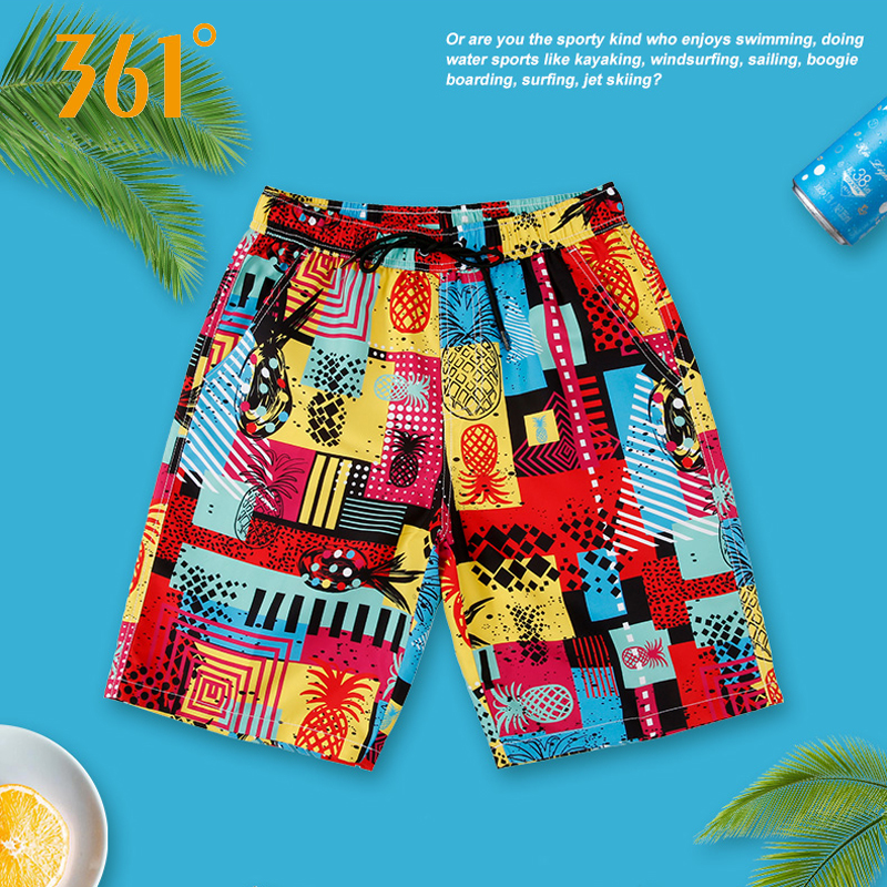 361 Men Swimming   Shorts   Quick Dry Surf Beach   Board     shorts   Sports Mens Swimming Trunks Boxer Swimming suit Male Swimwear   Short