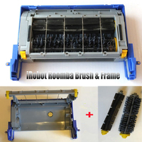 Main Brush + Brush Frame Case Box For IRobot Roomba 500 600 700 Series Cleaning Tool Accessories