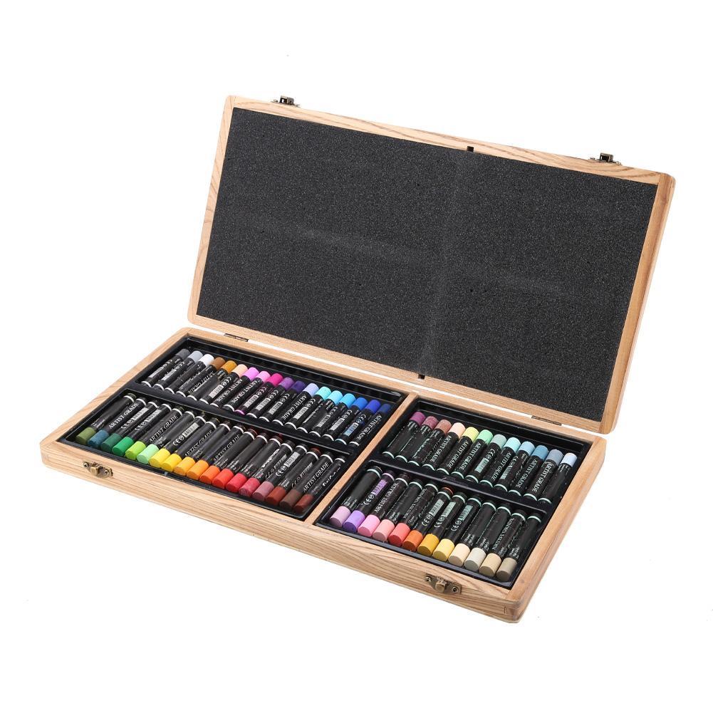 Delgreen 60 Colors Heavy Oil Pastel Oil Painting Patchwork Cross Stitch fabric decorating Stick Fine Art