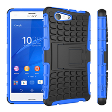 Capa For Sony Xperia Z3 Compact Coque Case Armor Shockproof Cover Etui For Sony Z3 Mini Compact D5803 Fundas SmartPhone Case