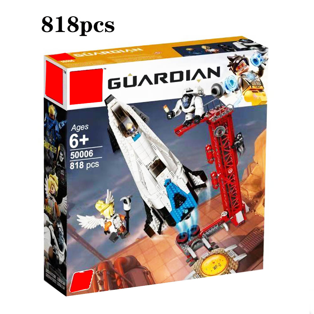2019 new Compatible with Legoinglys Overwatching 75975 Games Watchpoint Gibraltar Set Building Blocks Bricks Toys for
