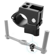 22mm 25mm Rod Clamp Monitor Mount Bracket Holder Cold Shoe Adapter for DJI Ronin M Zhiyun Crane2 Plus Crane V2 Gimbal Stabilizer