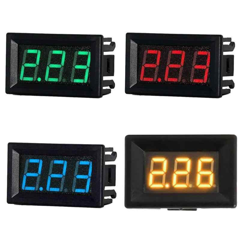 Mini 0.56in LED Digital Display DC 0-10A Ammeter Current Amp Panel Meter High-precision measurement of DC 0-10A current