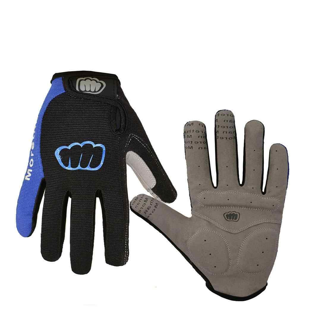 Осенне зимние перчатки унисекс для езды на велосипеде противоосенние с