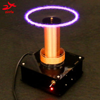 2019 New music Tesla Coil Wireless Transmission ,Tesla Coil, Music plasma loudspeaker,electronic diy kit Finished