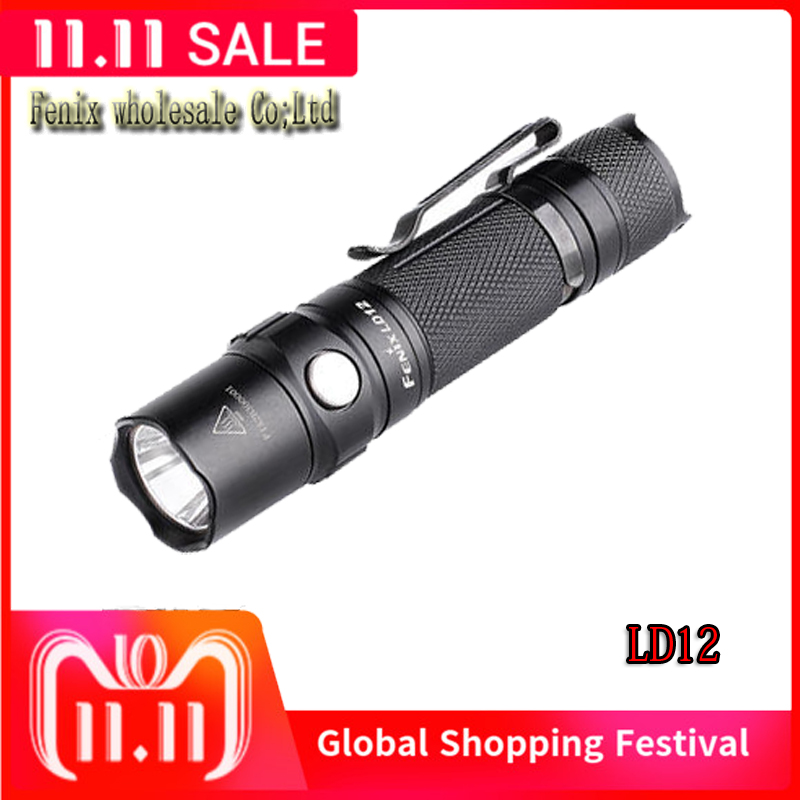 2017 new Fenix LD12 CREE XP G2 R5 neutral white LED 320 lumens AA 14500 flashlight